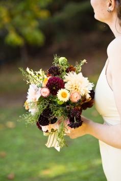 Fall Wedding Bridal Bouquet