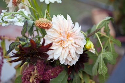 Fall Wedding Flowers Dahlia