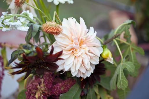 Fall Wedding Flowers Dahlia