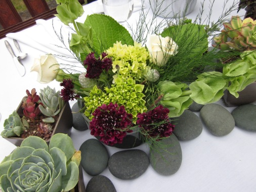 Wedding Centerpiece Succulants