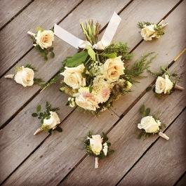 Forest Wedding Florals