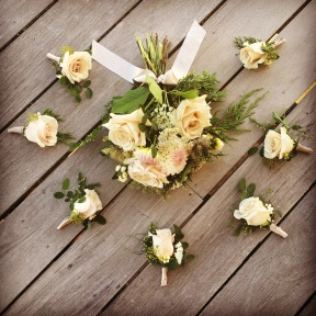 Forest Wedding Florals