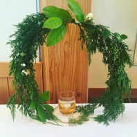 Forest Wreath Centerpiece