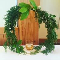 Forest Wreath Centerpiece